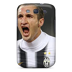 Galaxy S3 Case Cover The Football Player Of Juventus Giorgio Chiellini Is Shouting Case - Eco-friendly Packaging