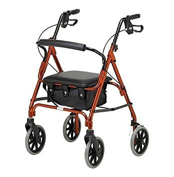 Amazon.com: Días 09 155 3155/105 ligero, plegable 4 ruedas ...