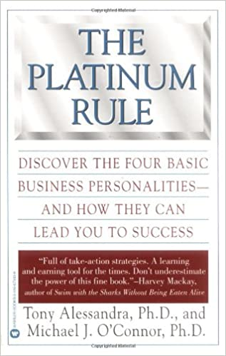The Platinum Rule by Dr. Tony Allesandra