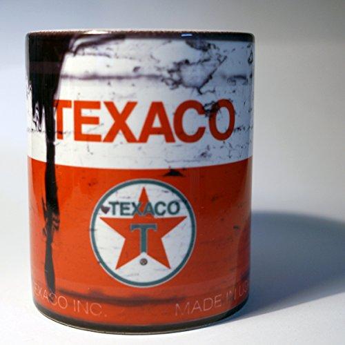 Texaco Motor Oil Can Lube 11 oz. Coffee Mug Antique Collector