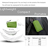 Backpack Rain Cover, Upgraded Adjustable Waterproof Backpack Cover