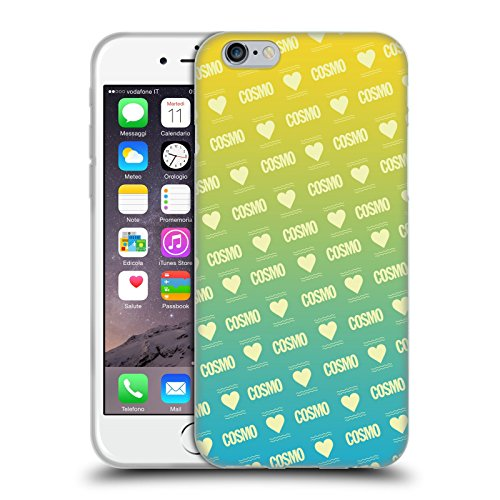 Official Cosmopolitan Ombre Love Logo Soft Gel Case for Apple iPhone 6 / 6s