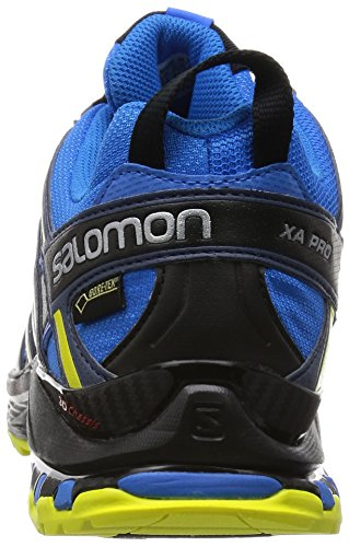 Salomon L38155400, Zapatillas de Trail Running Para Hombre, Azul (Bright Blue/Slateblue/Corona Yellow), 41 1/3 EU Azul (Bright Blue /     Slateblue /     Corona Yellow)