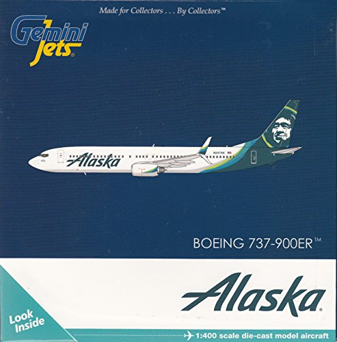 Gemini Jets Alaska B737-900ER Airplane Model (Alaska Airlines Model compare prices)