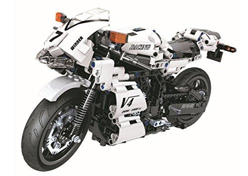 買取り実績  JKshop 716pcs TechnicシリーズホワイトRacing Motorcycle Building Blocks DIYレンガToys for Building Children B07FZ1YGK8 Motorcycle Greatギフト7047 B07FZ1YGK8, アピタe-ショップ:53e485f6 --- svecha37.ru