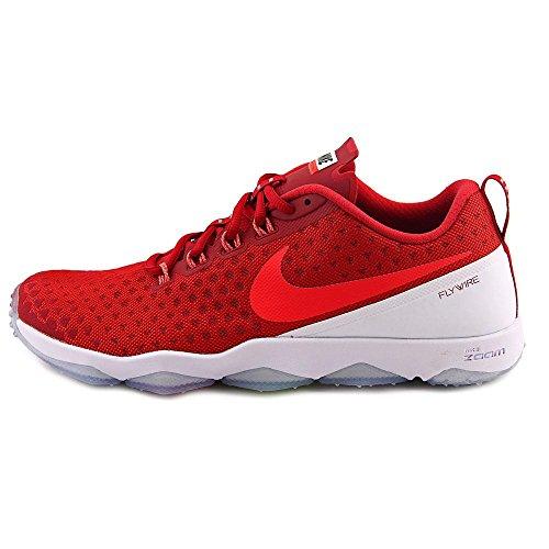 Nike Uomo Zoom Hypercross Tr2 Cross Training Scarpe Da Ginnastica Rosso / Luminoso Rosso-bianco-nero