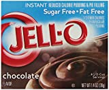 Jell-O Sugar-Free Instant Pudding and Pie Filling, Chocolate, 1.4-Ounce Boxes (Pack of 6)