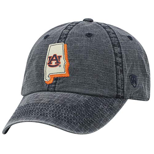 Top of the World Auburn Tigers Official NCAA Adjustable Stateline Cotton Hat Cap 456478 ()
