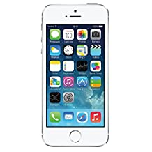 Apple iPhone 5S Silver 32GB Unlocked GSM Smartphone (Certified Refurbished)