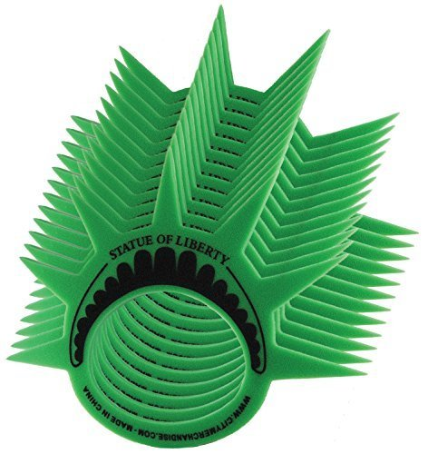 ((PACK OF 12)) Famous Statue of Liberty Party Crown Hat Cap and Visor, This Lady Liberty Themed Foam Crown is Perfect for New York Themed Party's, Costumes and as a (Party City Costumes For Women)