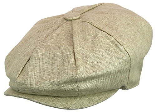 35a3f5b0f98 Epoch hats Men s Newsboy Linen Applejack Gatsby Collection Ivy Hats ...