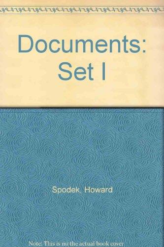 The World's History Volume I: Documents Set (Set I)