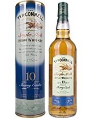 The Tyrconnell 10 Ans Irish Whiskey Single Malt, Sherry Finish (Avec Emballage Cadeau) (1 x 0.7l)