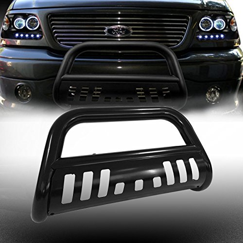 VioGi 1pc Fit 04-14 Ford F150 07-16 Lincoln Navigator/Ford Expedition New Carbon Steel C/S Blk Front Bumper Grill Guard Bull Bar (Bull Bar Bumper Guard compare prices)