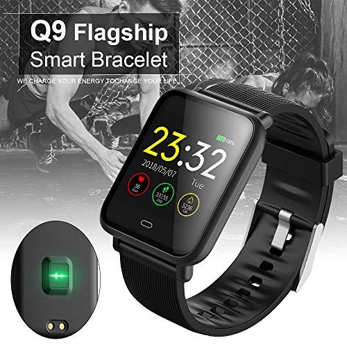Tutmonda Q9 Bluetooth Smartwatch Fitness Tracker Pulsera Deportiva ...
