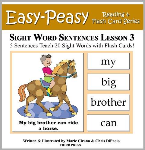 Download Sight Word Sentences Lesson 3: 5 Sentences Teach 20 Sight