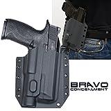 Bravo Concealment: S&W M&P 9/40 2.0 (4.25') TLR-1 HL OWB BCA Light Bearing Gun Holster