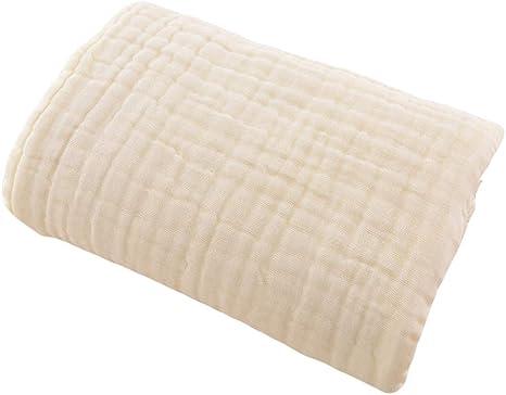 Toalla orgánica muselina de algodón de gasa bebé super suave bebé toallas de baño para bebé
