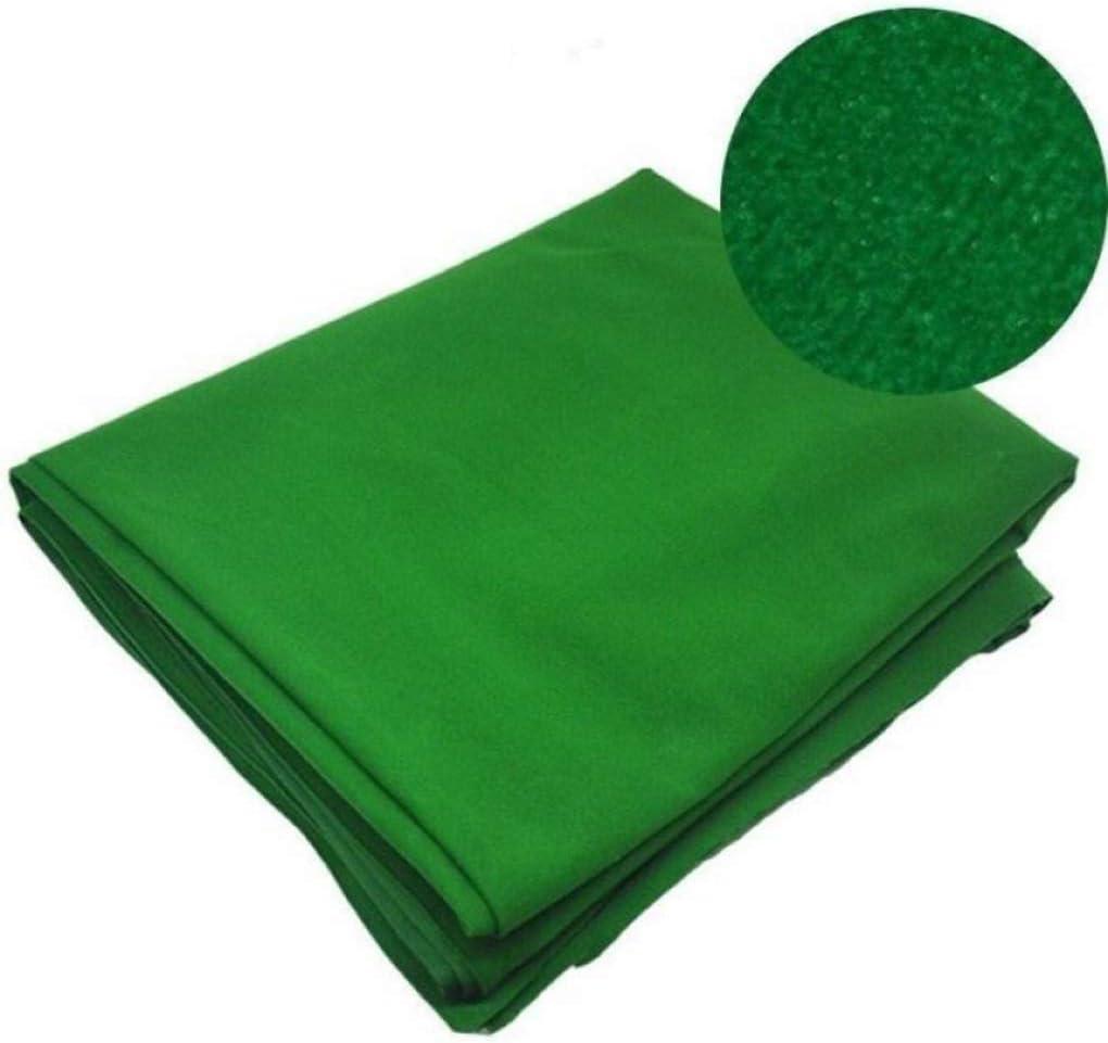 AMZH Verde Mantel de Billar Fieltro Fibra + Nylon/Lana Material Paño de Billar Tela para Mesa de Billar/Lana Tapetes Adecuado para mesas de Billar, Clubes: Amazon.es: Hogar