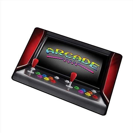 Amazon com : Fashion Door mat Video Games Arcade Machine