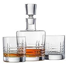 Schott Zwiesel 120143 Basic Bar Classic Whisky Compuesto por 1 – Juego de Jarra y 2 Double Old Fashioned Vasos Whisky Set, Cristal, incoloro, 22.5 x 13.0 x 23.0 cm