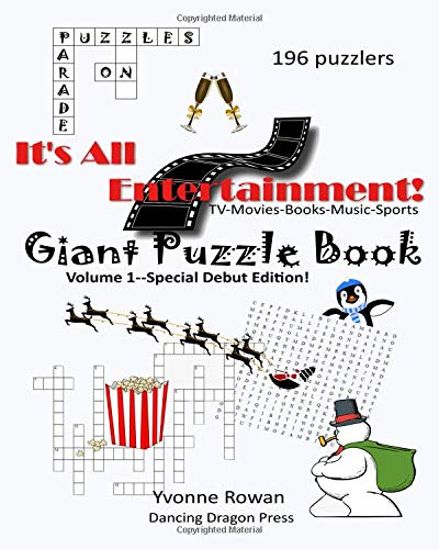 Pdf Humor Giant Puzzle Book: TV-Movies-Books-Music-Sports (It's All Entertainment!)