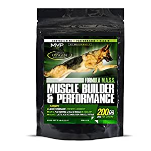 MVP K9 MUSCLE BUILDER AND PERFORMANCE (.59LBS / 45 SERVINGS)
