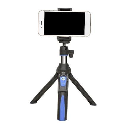 Mengonee Benro MK10 Selfie palillo de trípode Bluetooth 3.0 Acero Inoxidable Ajustable Selfie Monopod para iOS