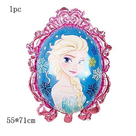 HCHD 9pcs / Set Ducha de la niña Papel de Globos Frozen ...