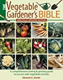 img - for Vegetable Gardener's Bible book / textbook / text book