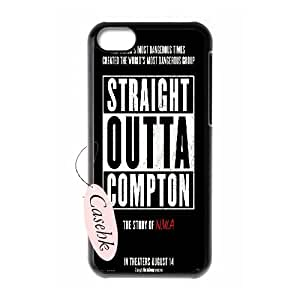 Casehk New Fashion Durable Phone Case for iPhone 5C, Straight Outta Compton iPhone 5C Customized Case, Straight Outta Compton Custom Phone Case