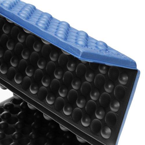 38.1x26.6x1.8 cm Blau Generic EVA-Schaum Faltkissen Camping Picknick Sitzkissen Stadionkissen Isomatte