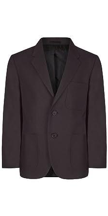c202c975f Boys Brown Polyester School Blazer, 104cm = 41