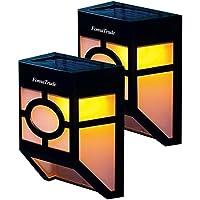 2-Pack FomaTrade LED Solar Outdoor Motion Sensor Light