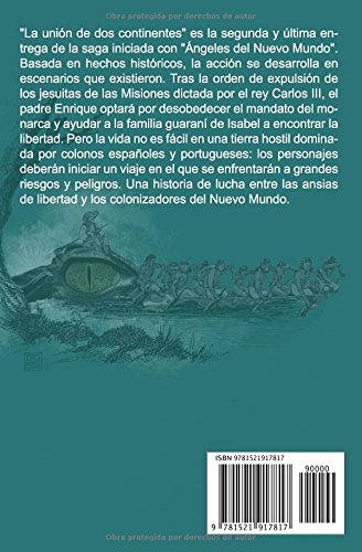 La unión de dos continentes: (Ángeles del Nuevo Mundo II) (Spanish Edition): Silvia Sanfederico Roca: 9781521917817: Amazon.com: Books