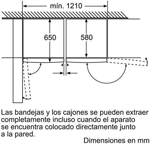 Balay 3GS8301B Independiente Vertical 198L A++ Blanco - Congelador ...