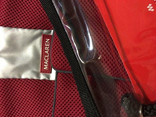 Maclaren Techno XT Comfort Pack - Crimson by Maclaren - Maclaren Techno Comfort Pack
