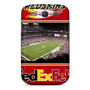 New KRA6230NAfJ Washington Redskins Skin Case Cover Shatterproof Case For Galaxy S3