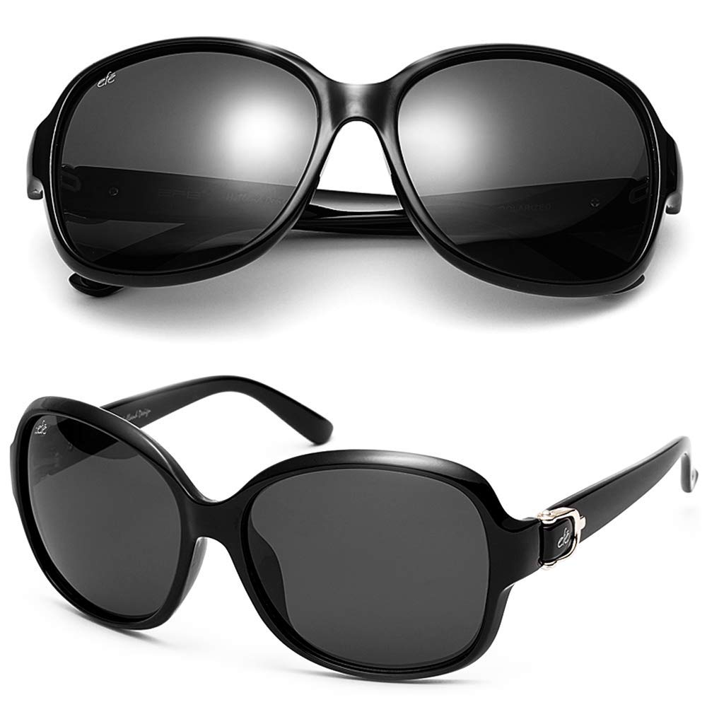 2f2c6f63782cc EFE Vintage Oversized Polarized Sunglasses for Women ...