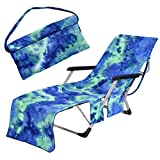 Freesooth Beach Chair Cover, Pool Lounge Chaise