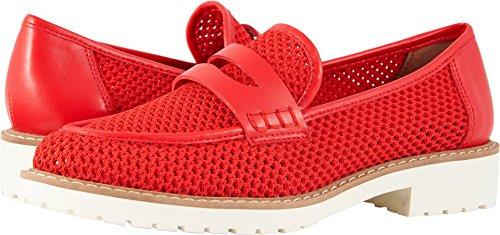 Celeste Loafer Flat, red, 9 Medium US ()