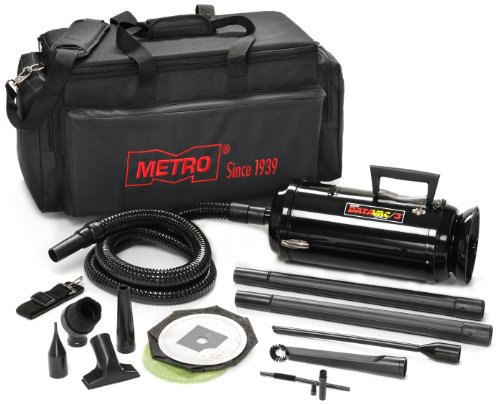 Metro MDV-3TCA220V 220-Volt 1.7 PHP Motor DataVac Pro Series Toner Vaccum with Micro Cleaning Tools and Carrying Case ()