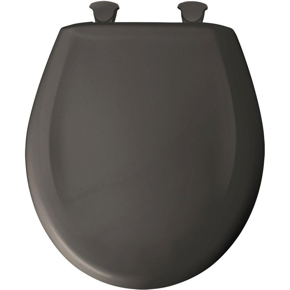 Superb Bemis 7B200Slowt 200Slowt 042 Lift Off Plastic Round Slow Close Toilet Seat Thunder Machost Co Dining Chair Design Ideas Machostcouk