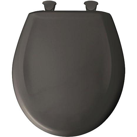 Outstanding Bemis 7B200Slowt 200Slowt 042 Lift Off Plastic Round Slow Close Toilet Seat Thunder Machost Co Dining Chair Design Ideas Machostcouk