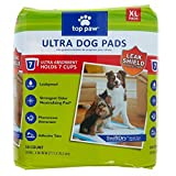 Top Paw Ultra Dog Pads XL 50 Count 24 Hour Protection with Swift Dry Technology