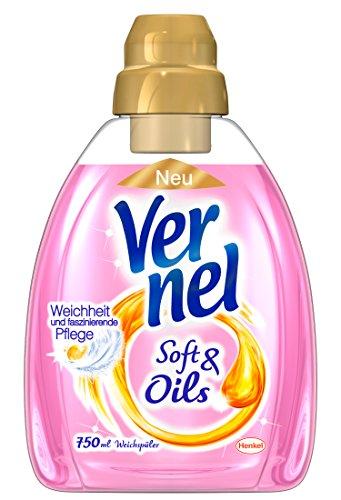 Vernel Soft & Oils Pink, 4er Pack (4 x 750 ml)