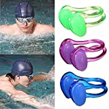 Silicone Soft Swimming Nose Clip With Case Adult Kids Water Sports Pool Accessories