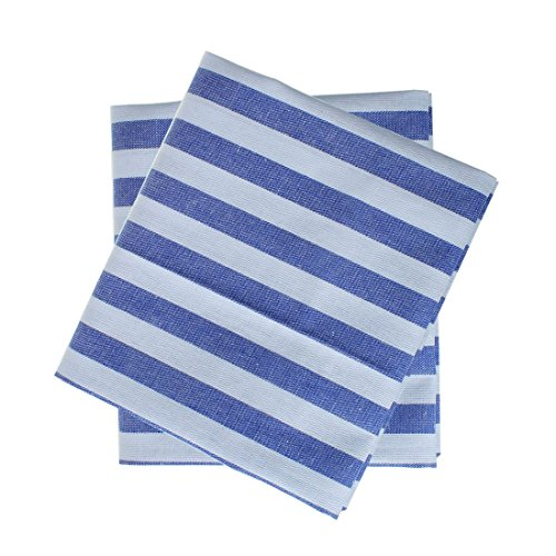 "uxcell 2 Pack Cotton Dish Towels 24"" x 16"", Machine Washable"