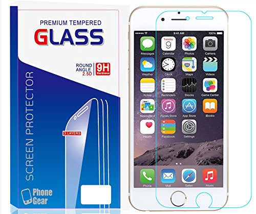 iphone 6S/6 Plus Glass Screen Protector, AICOO YCL Extreme Ultrathin 0.1mm (NOT...