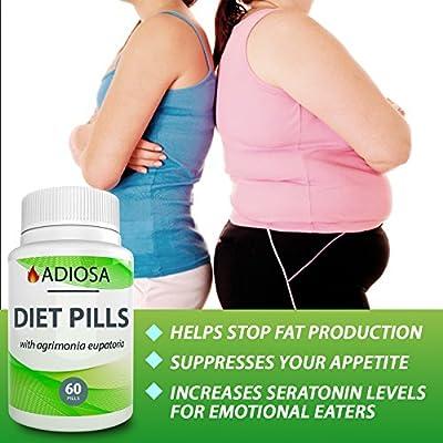Diet Pills for Women - Weight Loss Pills for Men - Appetite Suppressant - Weight Loss Supplements - Weight Management - Natural Weight Diet Pills for Women - Weight Loss Pills for Men